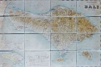 Antique map of Bali