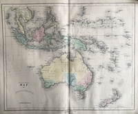 Gall Inglis Australia Early map